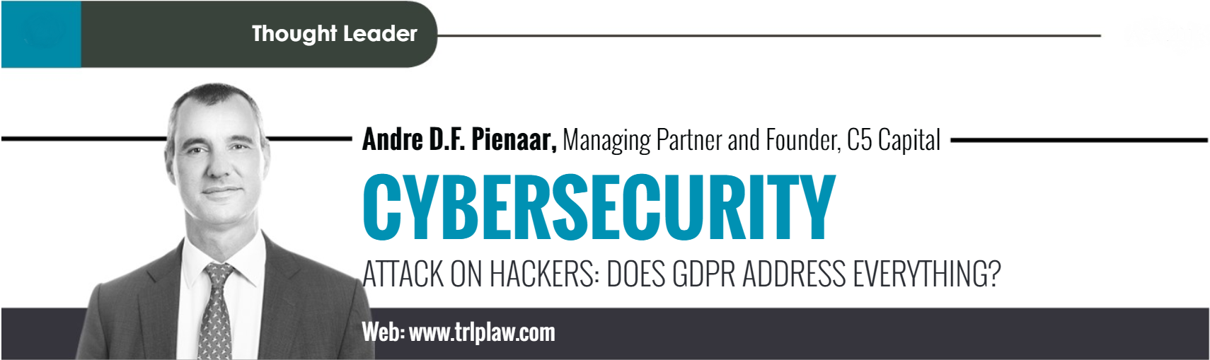 André Pienaar gdpr cyber security c5